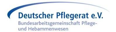 Deutschen Pflegerat e.V.