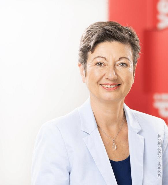 Sylvia Büler, Mitglied des ver.di-Bundesvorstands