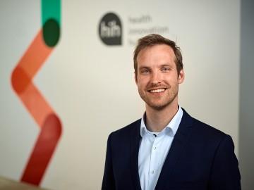Foto von Jan Brönneke, Zuständig für die Themen der Pflege beim Health Innovation Hub