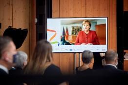 Videobotschaft von Bundeskanzlerin Angela Merkel auf dem DPT2020