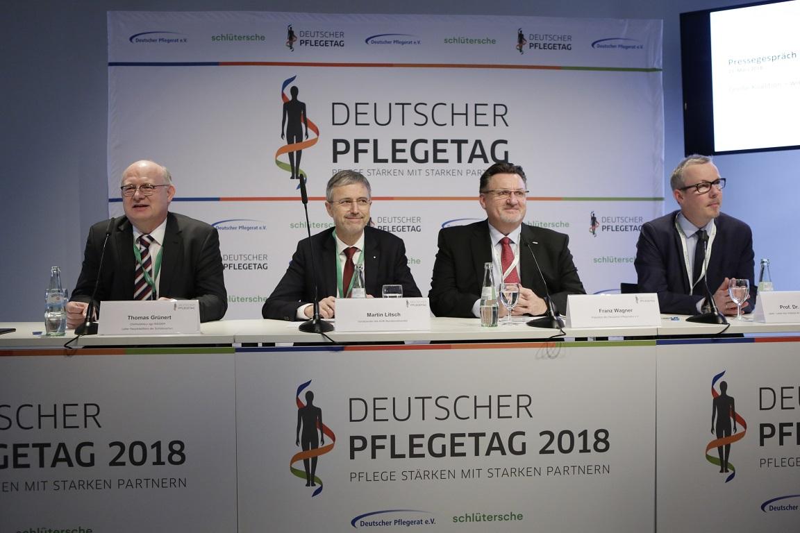 Deutscher Pflegetag 2018 - Teamarbeit Pflege interdisziplinär