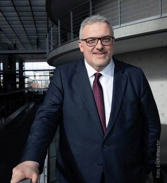 Bundestagsabgeordneter Erich Irlstorfer