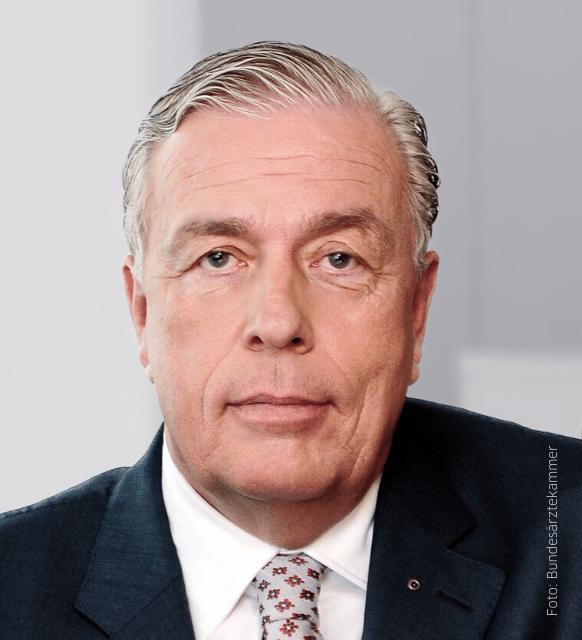 Bundesärztekammerpräsident Dr. Klaus Reinhardt